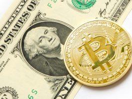 Dolar,dollar, dolar, USA, money, currency, banknote, bitcoin, cryptocurrency, BTC, crypto, blockchain, US dollar