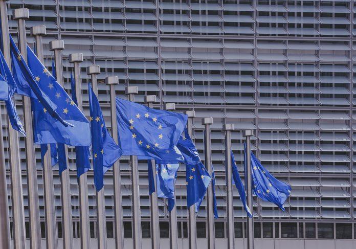 EU, European Union, flags, Europe