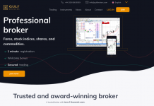 Gulf brokers homepage