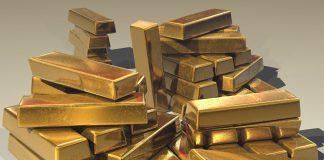 Gold, bricks