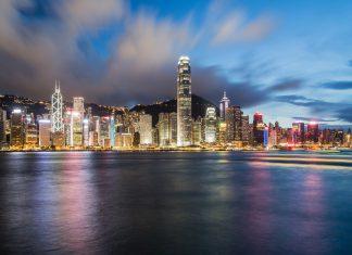 City skyline Hong Kong