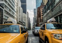 usa, city, cab, taxi, transport, traffic