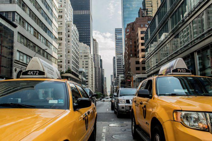 usa, city, cab, taxi, transport, traffic