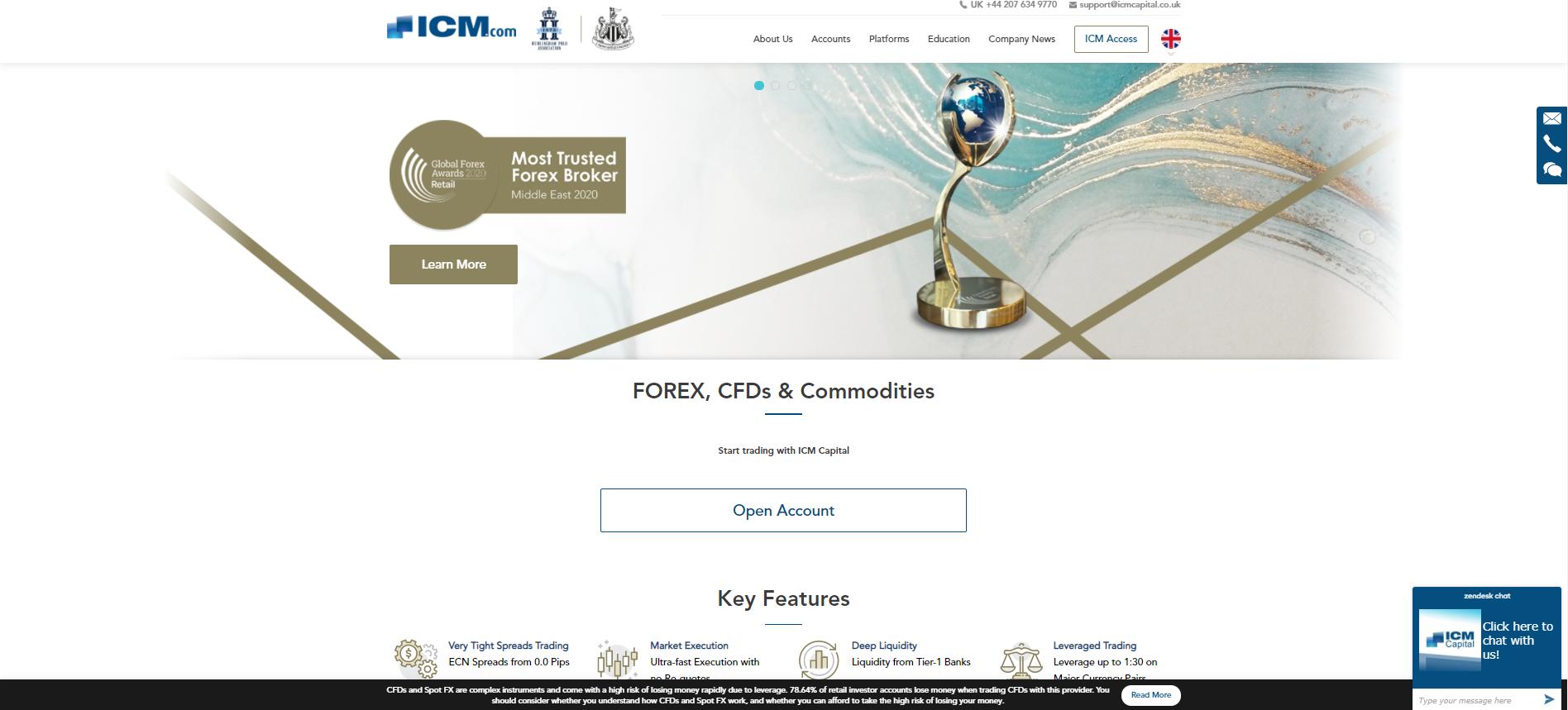 ICM Capital Web