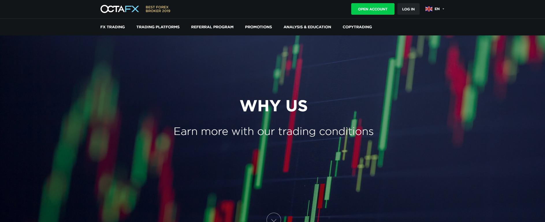 OctaFX web