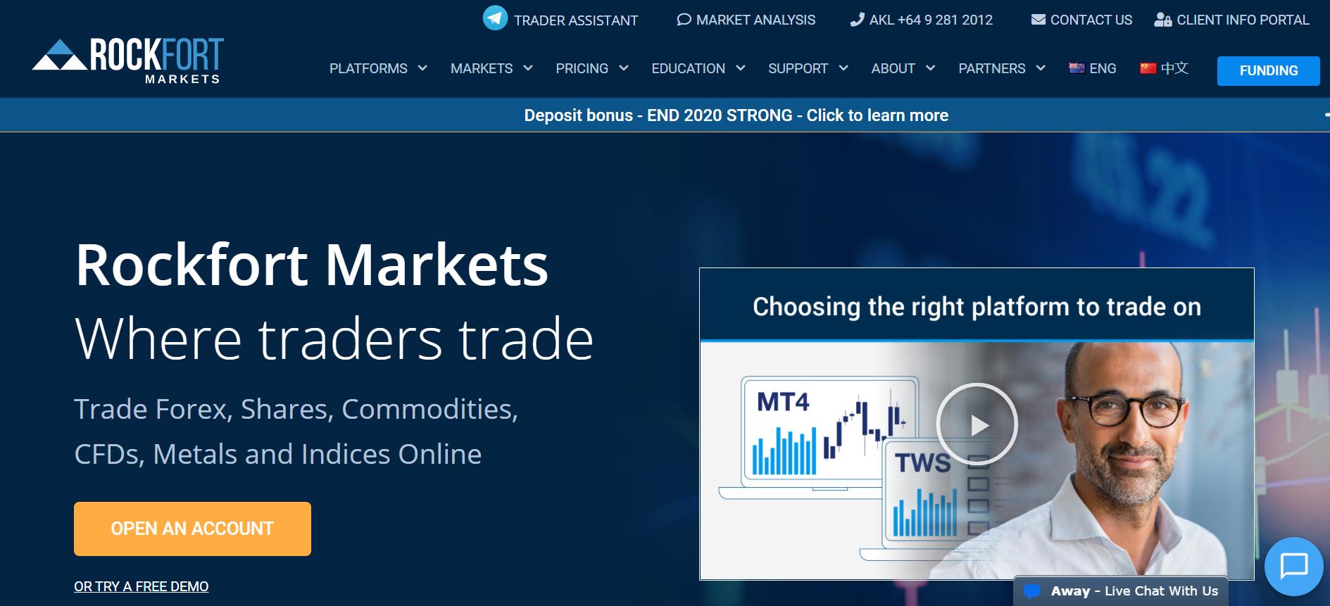 Rockfort Markets Ltd web
