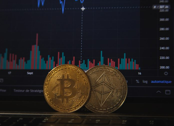 crypto, cryptocurrency, ethereum, bitcoin, cardano, graph, investment