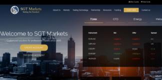 SGT Markets front