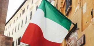 italian flag, italy